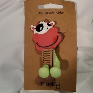 Toothbrush Holder - Cow
